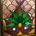 Custom Religious Stained Glass Panels