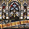 Religious Stained Glass Detail