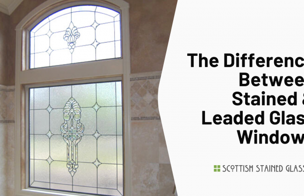 difference stained leaded glass