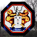 Stained Glass Family Crest Designs