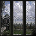 Sheridan Bedroom Stained Glass Window Patterns