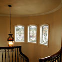 Castle Rock Hallway Stained Glass Entry