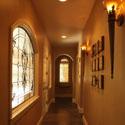 Hallway Stained Glass Windows