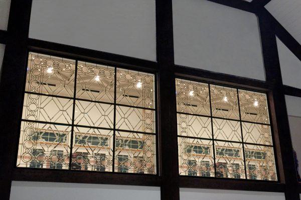 hotel leaded glass windows
