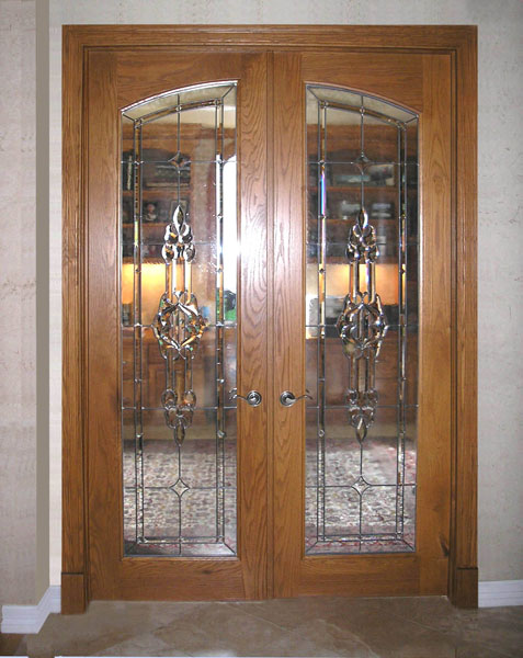 Other residential stained glass gallery for Interior glass doors