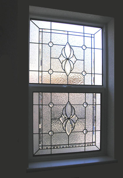 Bathroom stained glass scottish stained glass for Modern glass window design