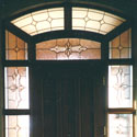 Stained Glass Entryway Designs