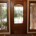 Stained Glass Entryway Sidelight