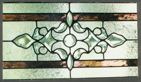 Stained Glass Transom Beveled Designs