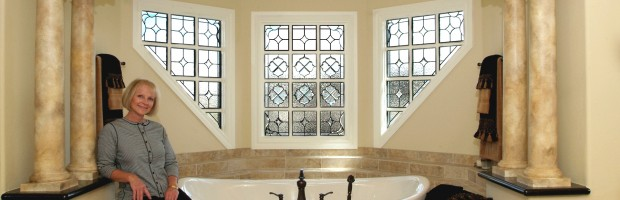 Stained Glass Windows Ensure Privacy