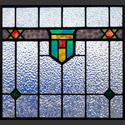 Antique Stained Glass Crest Colors