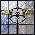 Antique Stained Glass Swish