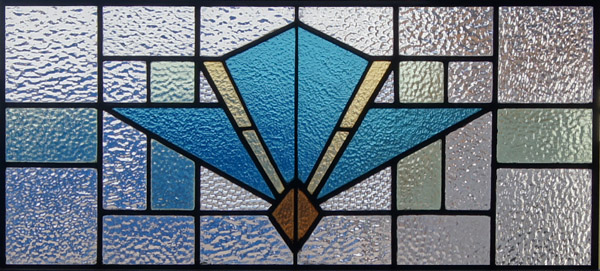 Simple Art Deco Stained Glass Patterns Antique scottish stained glass ...