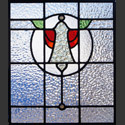 Stained Glass Antique Bell Pattern