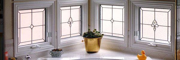 Scottish Stained Glass Bathroom Windows