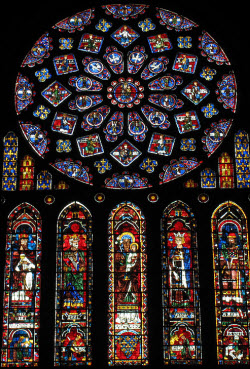 Stained Glass Chartres Cathedral