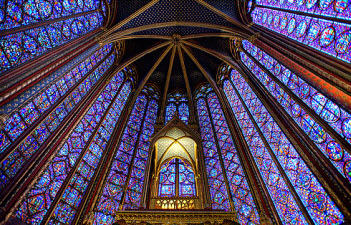 Stained Glass Sainte Chapelle