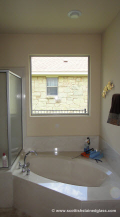 install new bathroom window