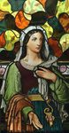 stained glass religious mother women artwork Denver