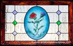 stained glass artwork rose denver