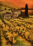 painted glass artwork farm field denver