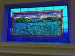 stained glass artwork green valley denver