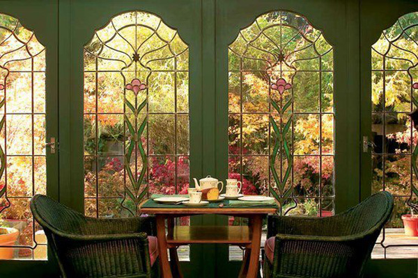 Februarys Most Beautiful Stained Glass Windows Floral