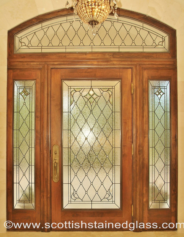 Stained Glass Entryway And Sidelights