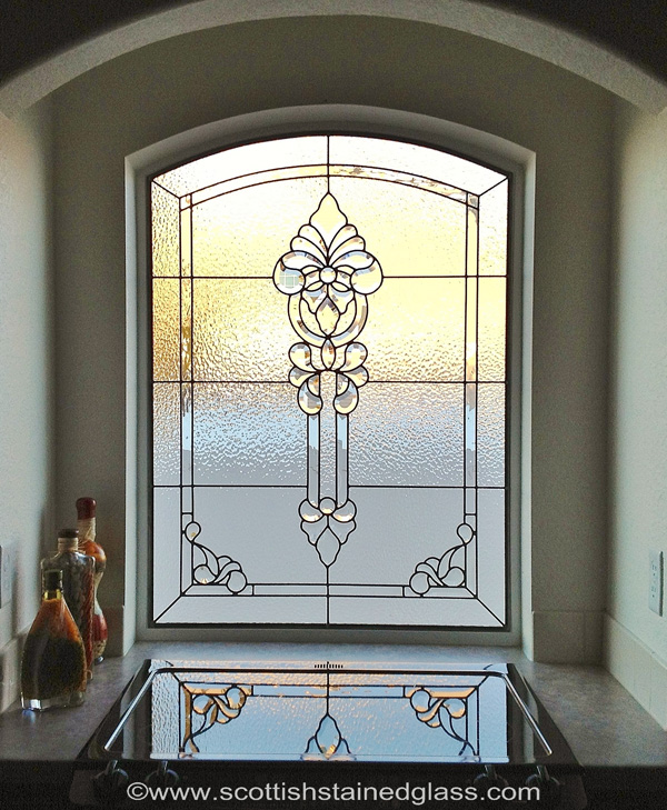 September 39 s beautiful stained glass scottish stained glass for Stained glass kitchen windows