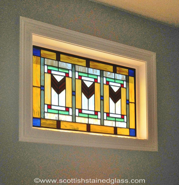 October 39 s beautiful stained glass scottish stained glass for Art deco glass windows