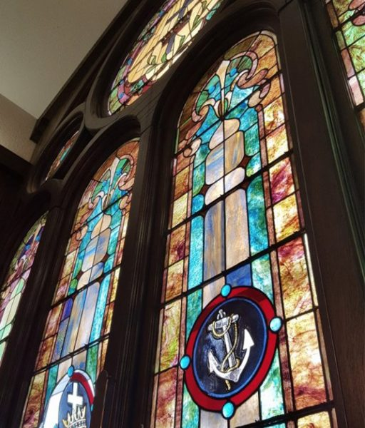church stained glass fort worth repair