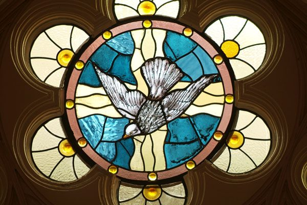 beaumont church stained glass restoration