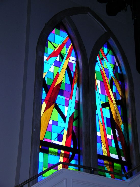 church stained glass windows cody