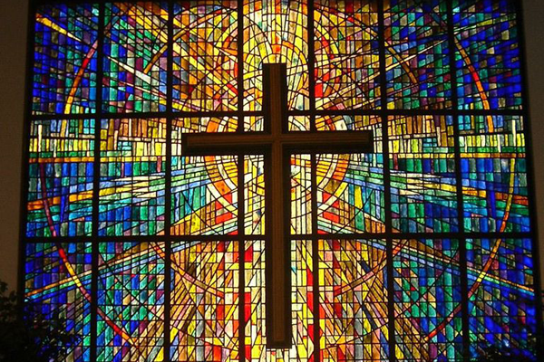 polson church stained glass