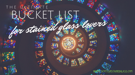 stained glass bucket list