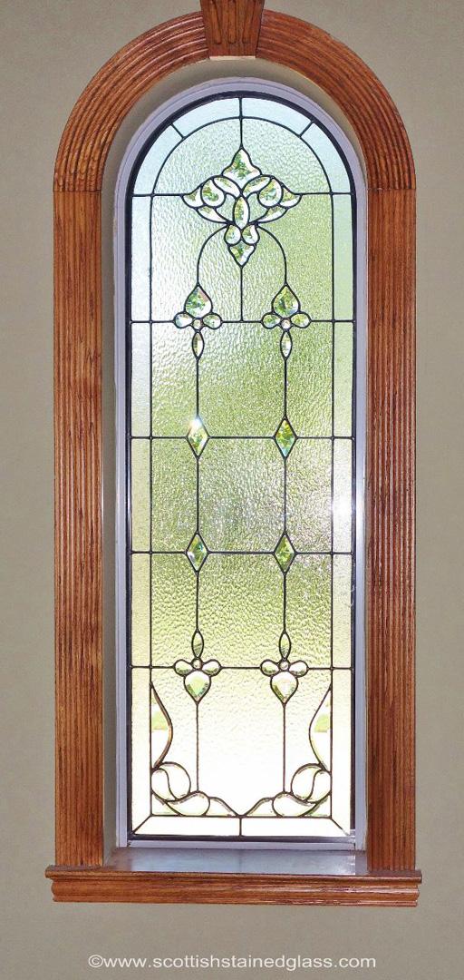 Hallway Windows Scottish Stained Glass Custom Studio