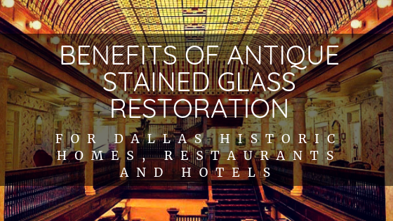 stained glass restoration dallas