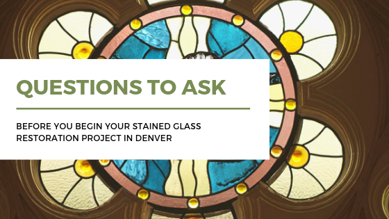 stained glass restoration denver