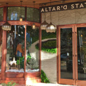 Austin Retail Leaded Glass Storefront - ATSG 34