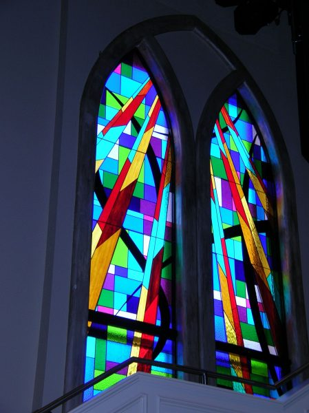 contemporary stained glass san antonio