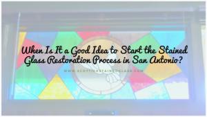 stained glass restoration san antonio