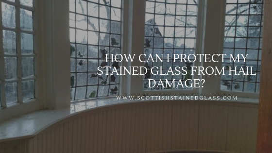 stained glass hail damage colorado springs