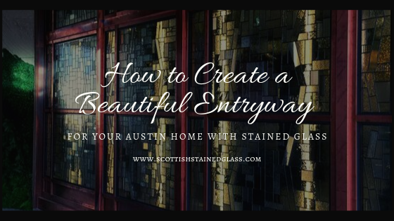 entryway stained glass austin