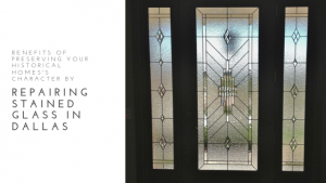 stained glass repair dallas homes