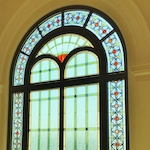 houston Modern Retail Stained Glass - SGH 63