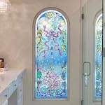 houston Modern Retail Stained Glass - SGH 54
