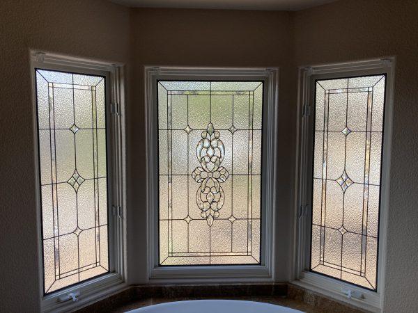 leaded windows beveled