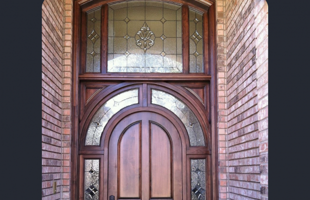 stained glass styles home architectural style