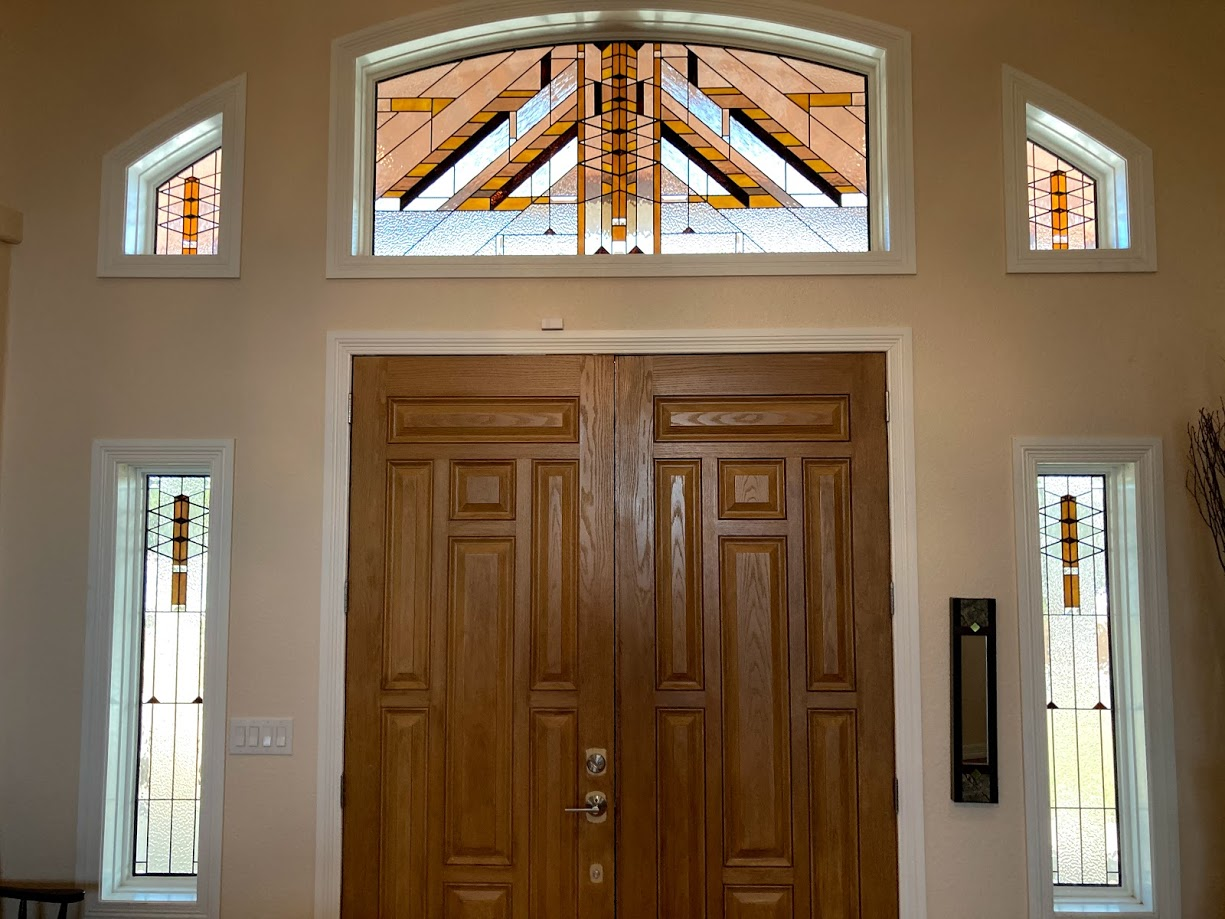 Stained Glass Entryway Denver