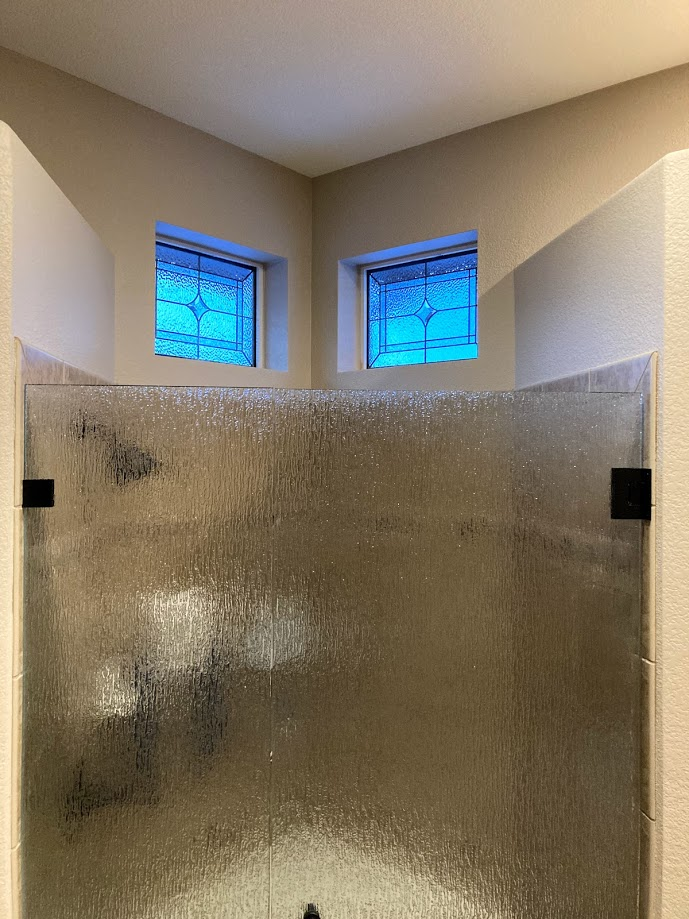 Denver Bathroom Stained Glass